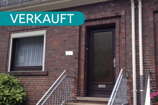 Erfolgreich verkaufte Immobilie, ein Reihenmittelhaus in Bremen